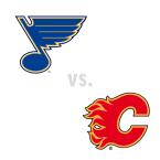 St. Louis Blues at Calgary Flames