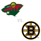 Minnesota Wild at Boston Bruins