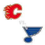 Calgary Flames at St. Louis Blues