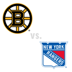 Boston Bruins at New York Rangers