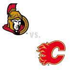 Ottawa Senators at Calgary Flames