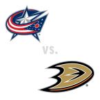 Columbus Blue Jackets at Anaheim Ducks