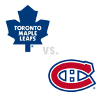 Toronto Maple Leafs at Montreal Canadiens