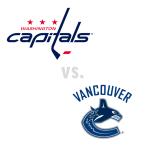 Washington Capitals at Vancouver Canucks