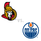 Ottawa Senators at Edmonton Oilers