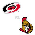 Carolina Hurricanes at Ottawa Senators