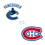 Vancouver Canucks at Montreal Canadiens