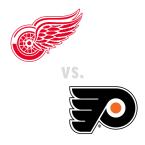 Detroit Red Wings at Philadelphia Flyers