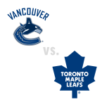 Vancouver Canucks at Toronto Maple Leafs