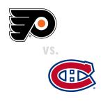 Philadelphia Flyers at Montreal Canadiens