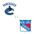 Vancouver Canucks at New York Rangers