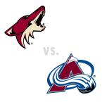 Arizona Coyotes at Colorado Avalanche