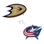 Anaheim Ducks at Columbus Blue Jackets