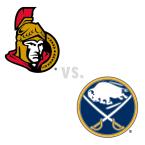 Ottawa Senators at Buffalo Sabres