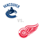 Vancouver Canucks at Detroit Red Wings