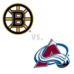 Boston Bruins at Colorado Avalanche