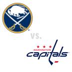 Buffalo Sabres at Washington Capitals