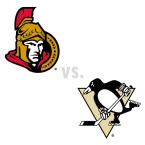 Ottawa Senators at Pittsburgh Penguins