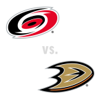 Carolina Hurricanes at Anaheim Ducks