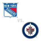 New York Rangers at Winnipeg Jets