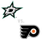 Dallas Stars at Philadelphia Flyers