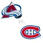 Colorado Avalanche at Montreal Canadiens