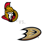 Ottawa Senators at Anaheim Ducks