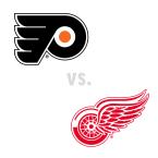 Philadelphia Flyers at Detroit Red Wings