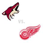 Arizona Coyotes at Detroit Red Wings