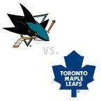 San Jose Sharks at Toronto Maple Leafs