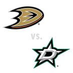 Anaheim Ducks at Dallas Stars