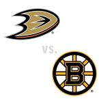 Anaheim Ducks at Boston Bruins
