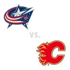 Columbus Blue Jackets at Calgary Flames