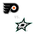 Philadelphia Flyers at Dallas Stars
