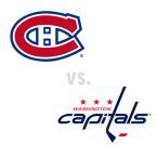 Montreal Canadiens at Washington Capitals