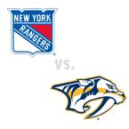 New York Rangers at Nashville Predators