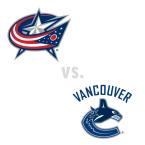 Columbus Blue Jackets at Vancouver Canucks