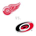 Detroit Red Wings at Carolina Hurricanes