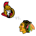 Ottawa Senators at Chicago Blackhawks