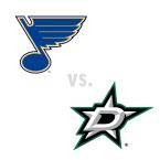 St. Louis Blues at Dallas Stars