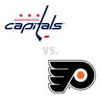 Washington Capitals at Philadelphia Flyers