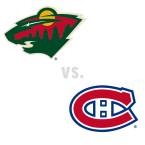 Minnesota Wild at Montreal Canadiens