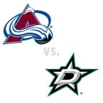 Colorado Avalanche at Dallas Stars