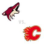 Arizona Coyotes at Calgary Flames