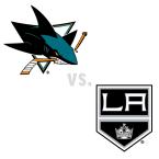 San Jose Sharks at Los Angeles Kings