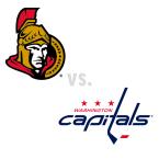 Ottawa Senators at Washington Capitals