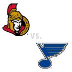 Ottawa Senators at St. Louis Blues