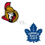 Ottawa Senators at Toronto Maple Leafs