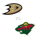 Anaheim Ducks at Minnesota Wild