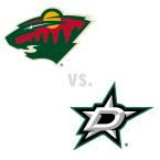 Minnesota Wild at Dallas Stars
